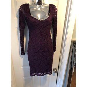 ASOS Plum Lace Dress